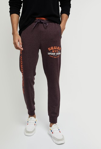 MAX Printed Full-Length Joggers