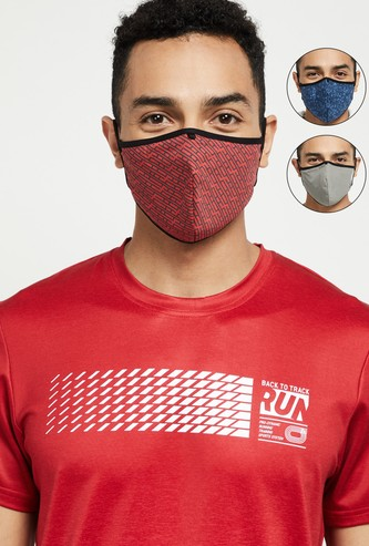 MAX Printed Face Mask - Set of 3 Pcs