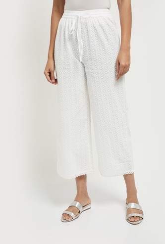MAX Embroidered Straight Pants
