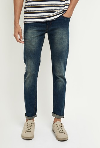 MAX Dark Washed Skinny Jeans