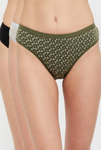 MAX Assorted Hipster Panties- Pack of 3