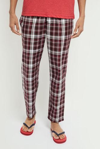 MAX Checked Pyjama Pants with Insert Pockets