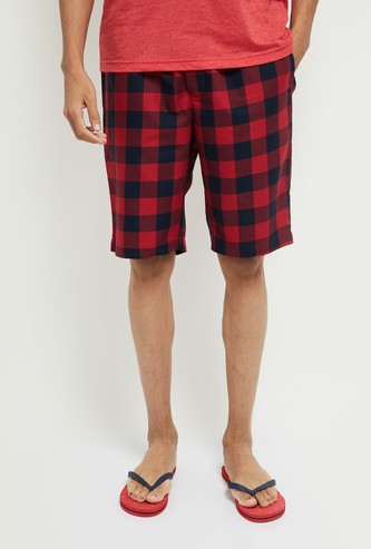 MAX Checked Lounge Shorts