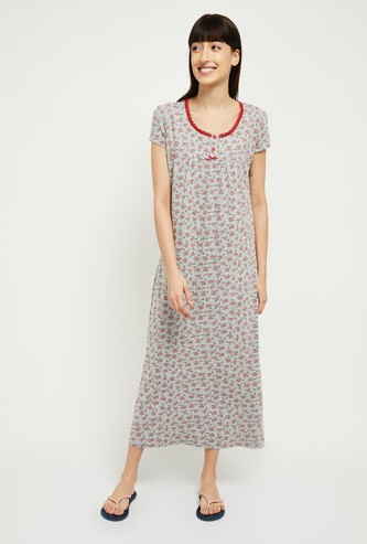 MAX Floral Print Night Dress