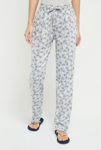 MAX Floral Print Pyjama Pants