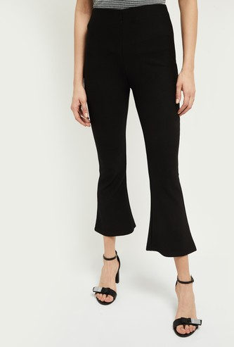 MAX Solid Bootcut Fit Pants
