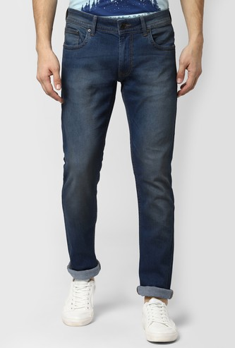 PETER ENGLAND Washed Slim Fit Jeans