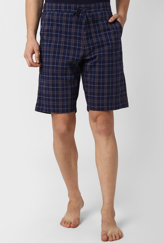 PETER ENGLAND Checked Elasticated Boxers