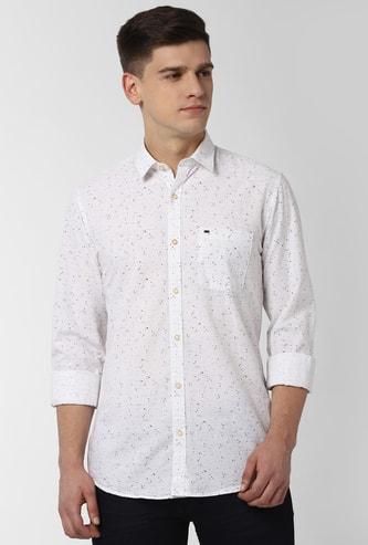 PETER ENGLAND Printed Full Sleeves Casual Shirt
