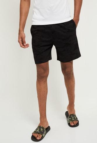 MAX Camo Print Lounge Shorts