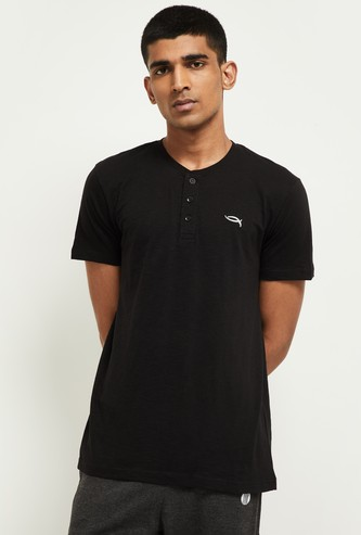 MAX Solid Short Sleeves Lounge T-shirt