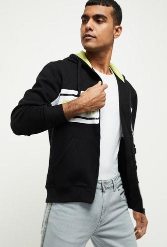 MAX Printed Hooded Sweatshirt