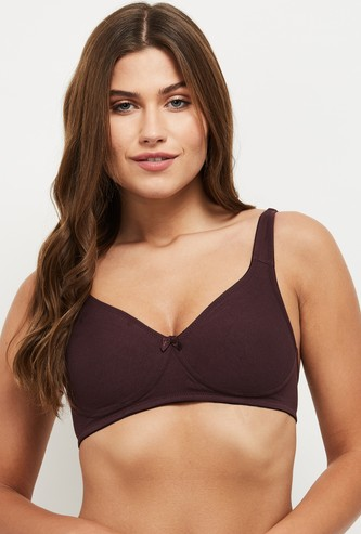 MAX Solid Soft-Cup T-shirt Bra