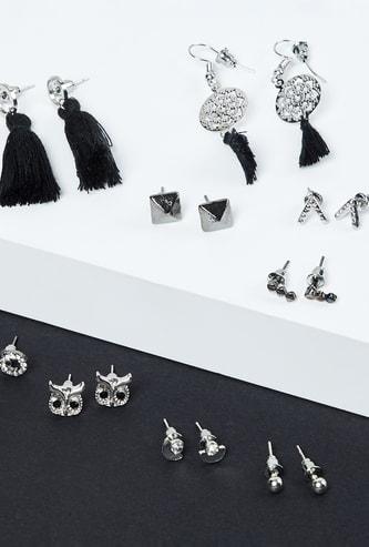 MAX Oxidized Earrings- Set of 9