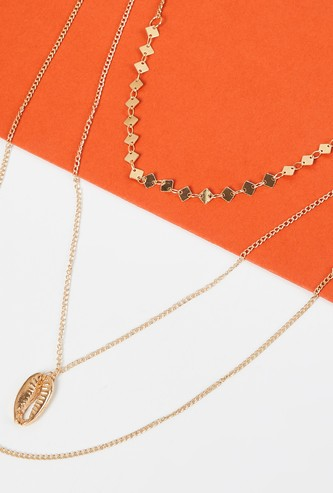 MAX Gold-Toned Layered Necklace