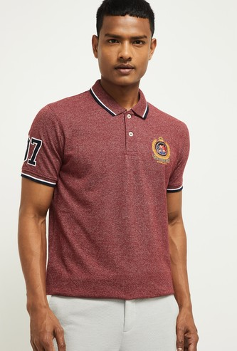 MAX Embroidered Slim Fit Polo T-shirt