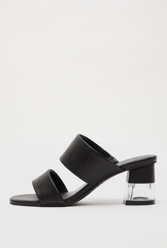 Dual Strap Heel Sandals