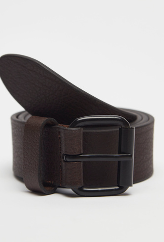 Casual Belt with Metal Pin Buckle