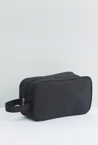 حقيبة صغيرة للسفر متعددة الأقسام بسحّاب إغلاق