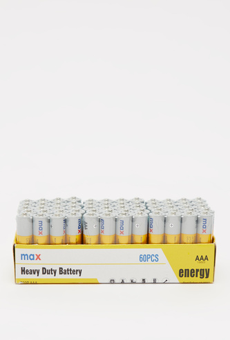 Heavy Duty AAA 60-Piece Battery Pack