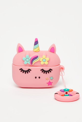 Unicorn Themed AirPods Case with Ring Buckle Holder