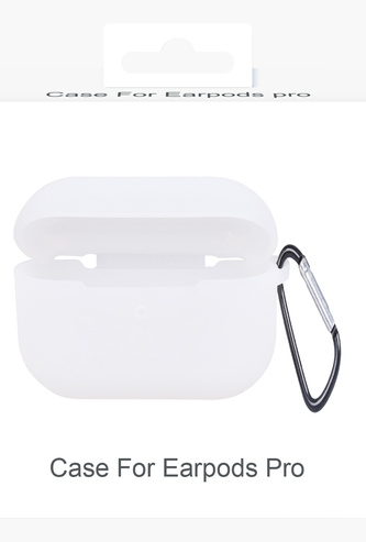Protective Case for Earpods with Keyring