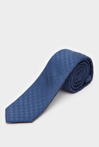 ربطة عنق سليم بحلقة تثبيت