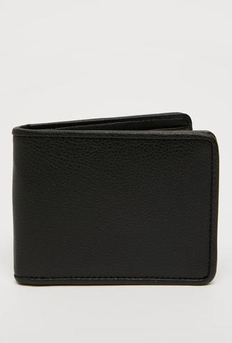 Textured Bi-Fold Wallet