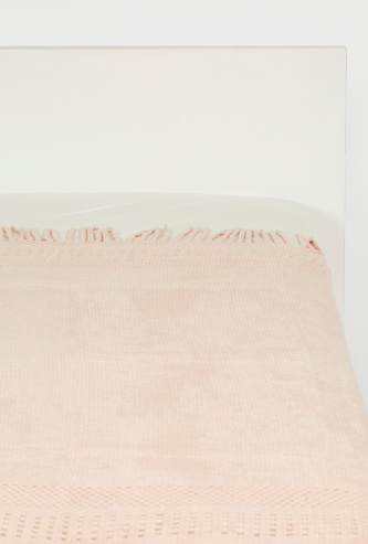 Textured Throw - 152x127 cms