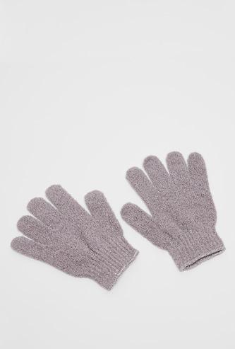 Textured Bath Gloves