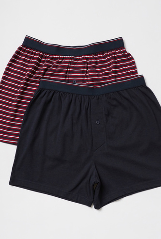Pack of 2 - Assorted Boxers with Elasticised Waistband
