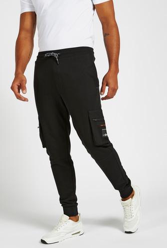 Full Length Cargo Jog Pants with Pockets