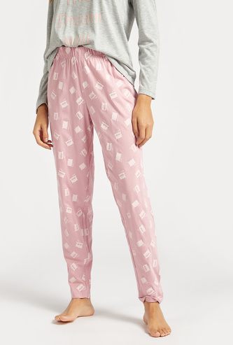 Printed Full Length Pyjama with Elasticated Waistband