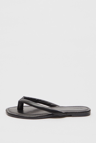 Solid Thong Sandals