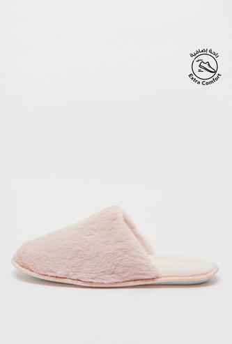 Plush Bedroom Slippers