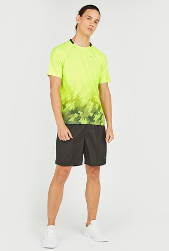 Sublimation Print T-shirt with Short Sleeves