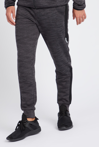 Space Dyed Full Length Joggers with Elasticated Drawstring Waist