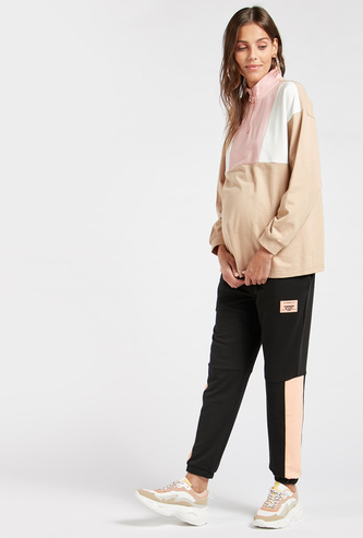 Panelled Full Length Maternity Jogger with Pockets