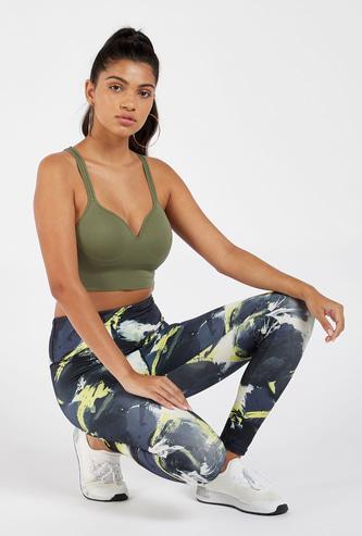 Full Length Printed High Rise Leggings