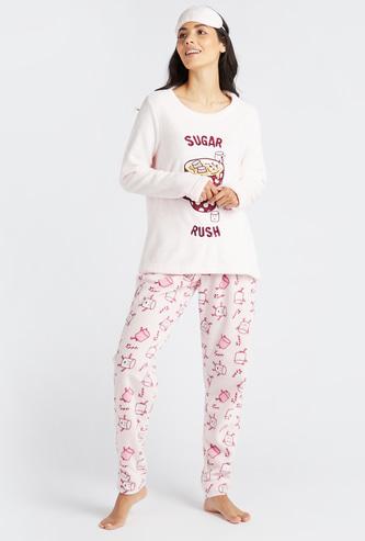 Gift Pack - Cozy Printed 3-Piece Nightwear Set