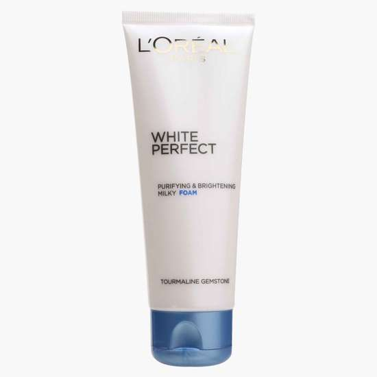 L'OREAL White Perfect Facial Foam Cleanser
