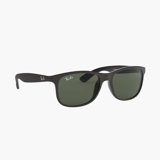RAY-BAN Men Solid Wayfarer Sunglasses - RB4202-606971-55