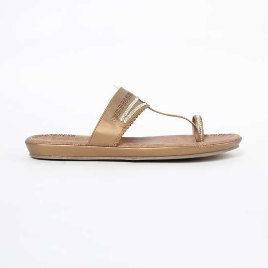 INC.5 Toe-Ring T-strap Flat Sandals
