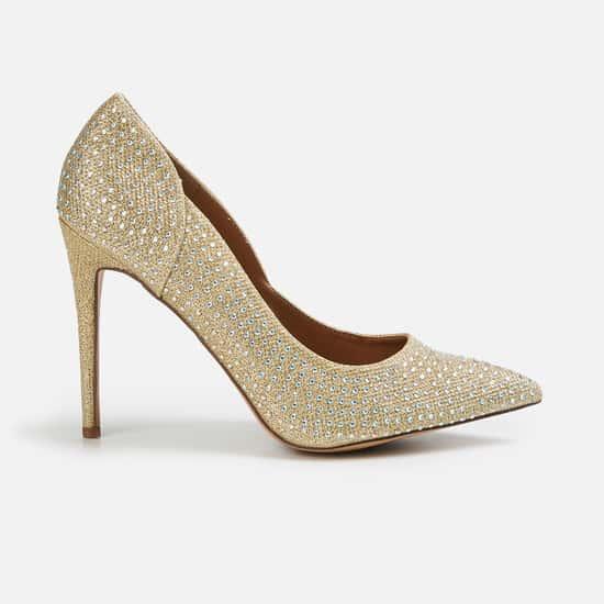 CATWALK Women Embellished Pointed Heels