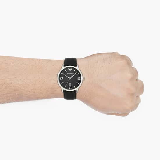 EMPORIO ARMANI Men Analog Watch with Leather Strap - AR11210