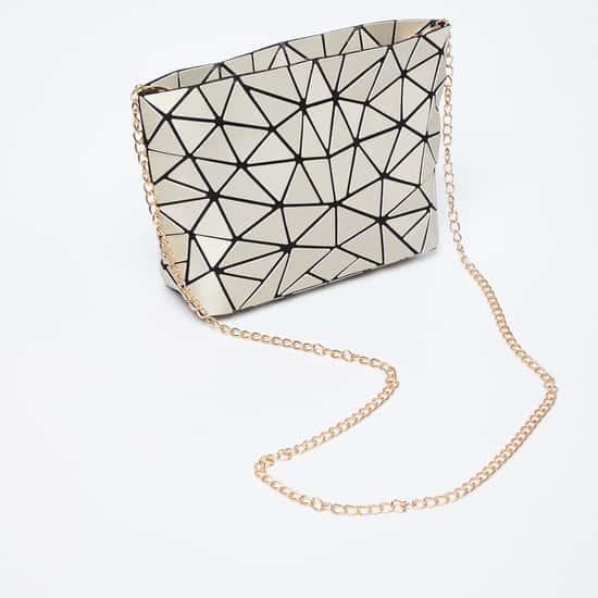 GINGER Geometric Pattern Sling Bag