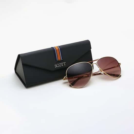 SCOTT Men UV-Protected Aviator Sunglasses- SC2329C1ANTHONYS