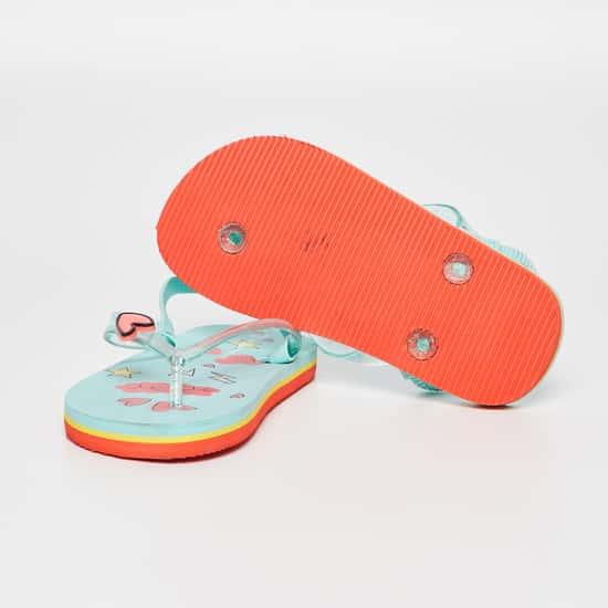 FAME FOREVER Printed Slingback Slippers