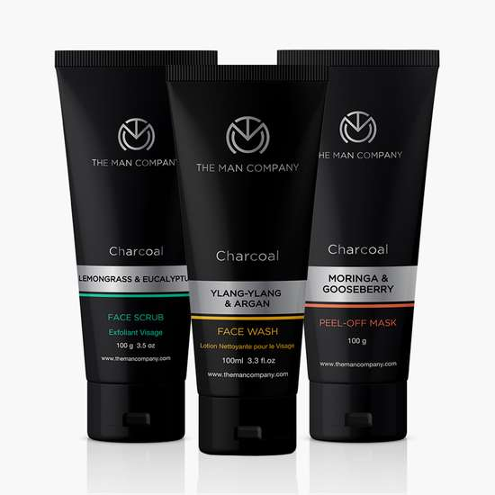 THE MAN COMPANY Charcoal Cleansers Face Combo