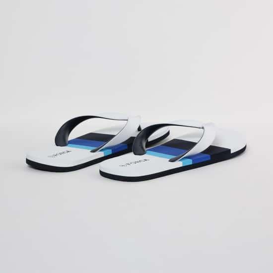 FORCA Colourblocked V-strap Slippers